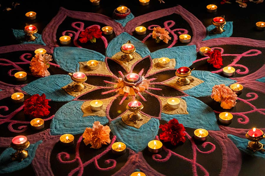 Diwali Rangoli Decoration
